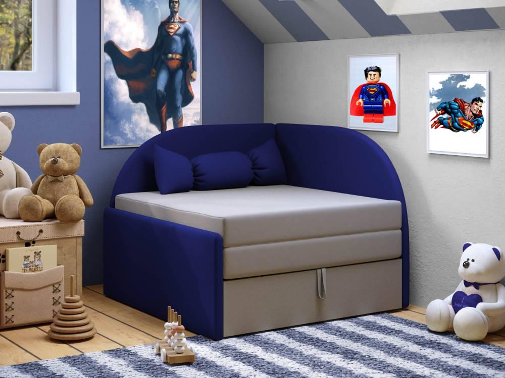диванчик детский малютка синий