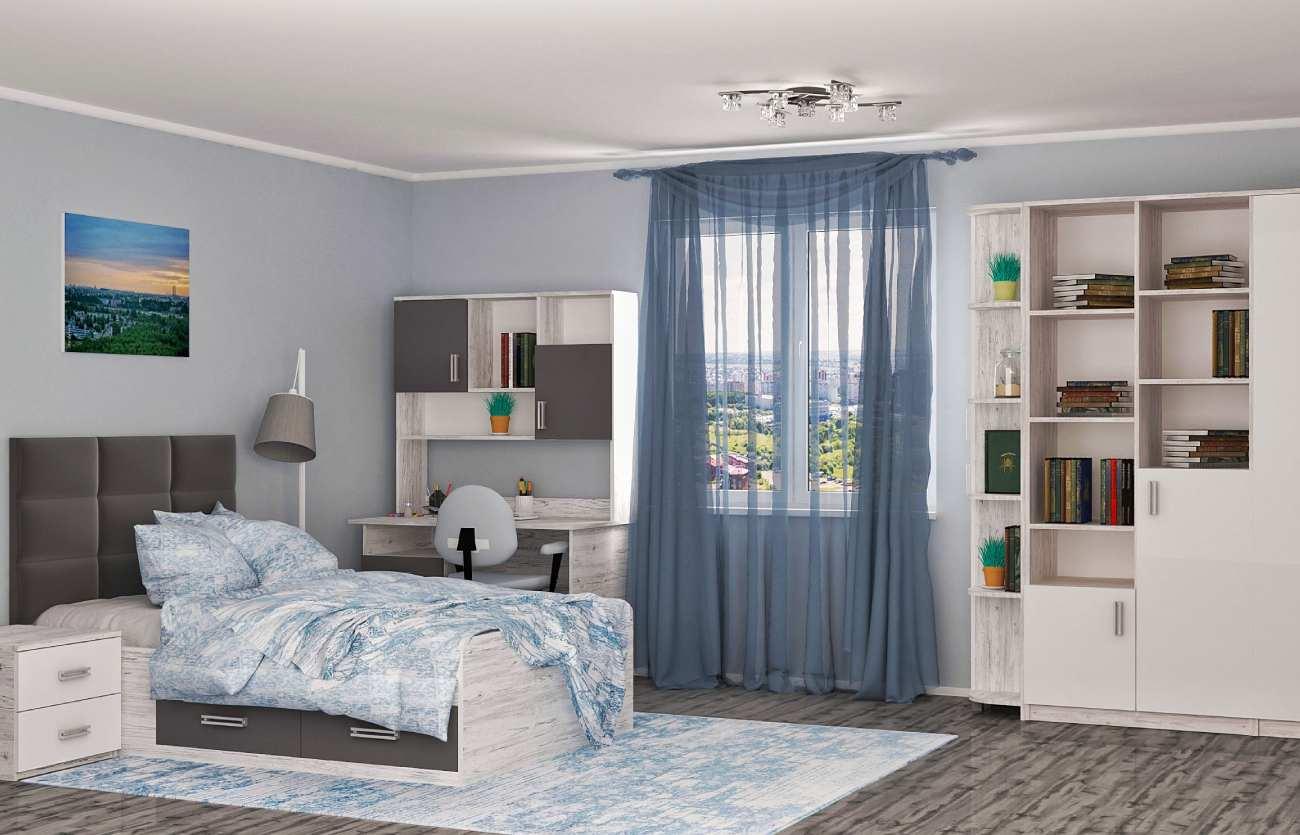комната аляска кровать холидей