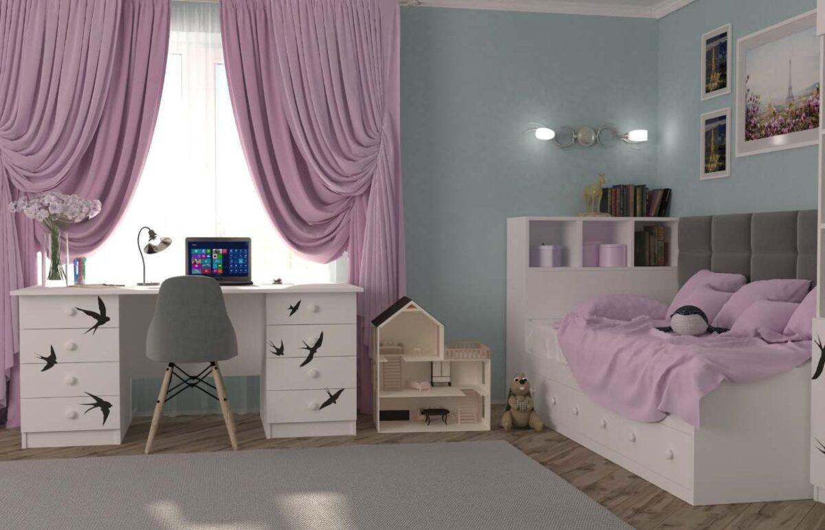 подростковая комната ласточки
